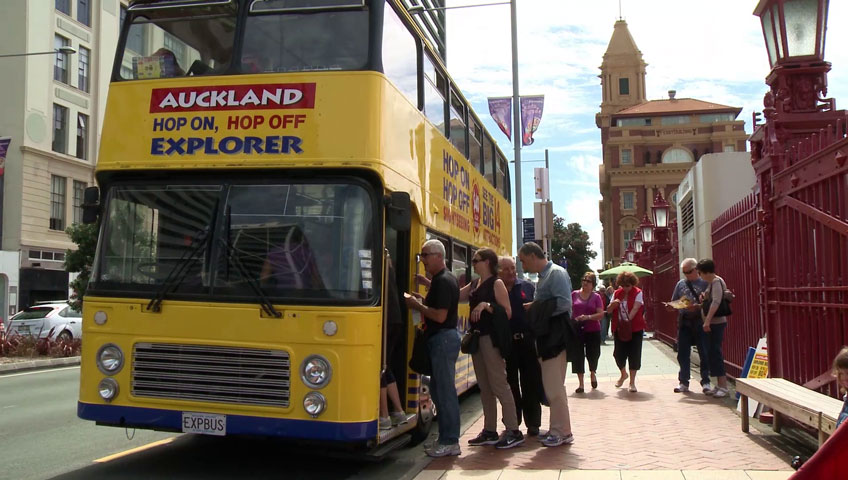 Auckland Hop on Hop off Bus